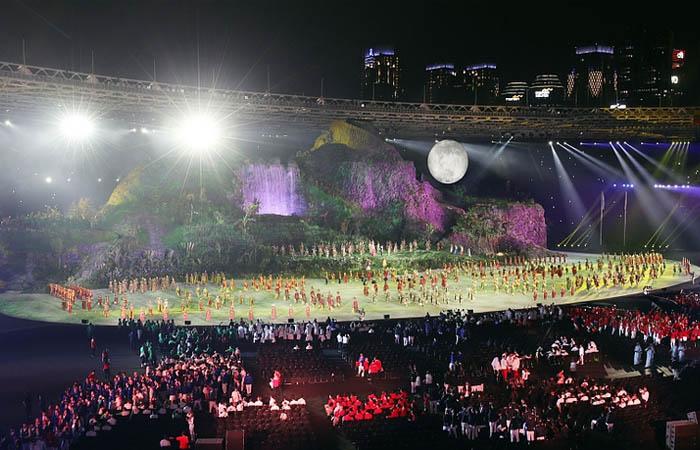 锐星灯光助阵2018第十八届亚运会开幕式