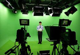吉林省吉林市公安局虚拟演播室