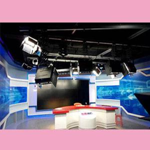 新闻主播区和访谈区