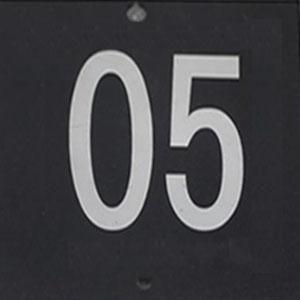 灯具号码牌